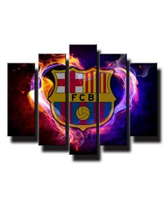 5 dielny obraz na stenu Fc Barcelona