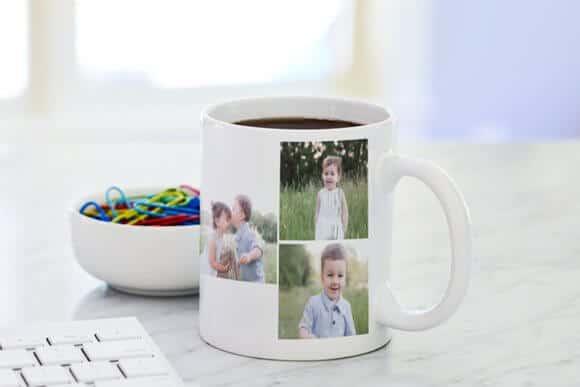 Koláž na hrnček s fotkou, koláž z vlastných fotiek na hrnček,potlač hrnčekov s vlastnou fotkou