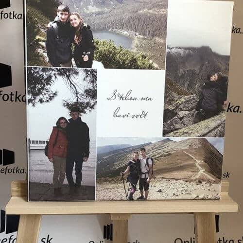 Koláž z fotiek na stenu do bytu ci domu, foto kolaz ako darček pre každého