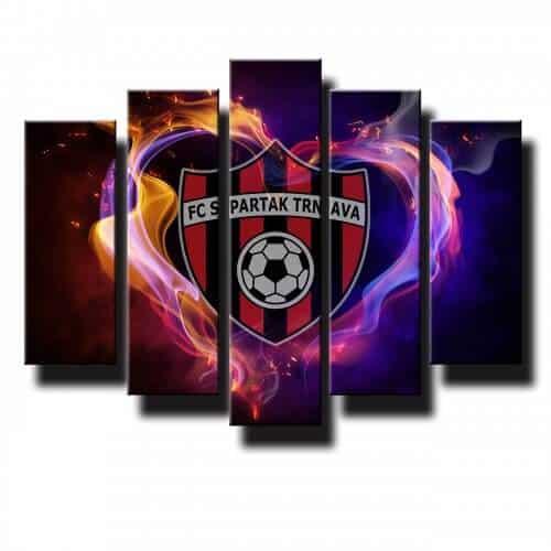 5 dielny obraz na stenu FC Spartak Trnava
