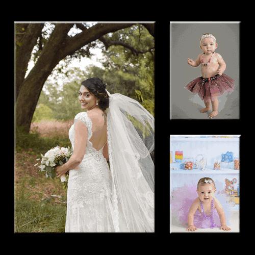 Foto na plátno set troch obrazov